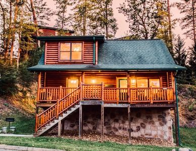Photo for Delightful 2BR/2BA Mountain Retreat w/ Hot Tub & Game Room - Near Dollywood