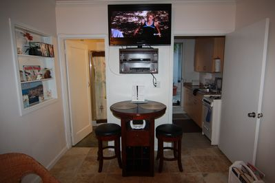 42 inch flat screen LCD TV and Video Library