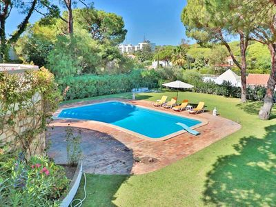 Photo for Vale do Lobo villa with private fenced pool. Sleeps 6 C521