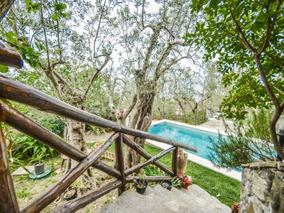 Photo for Family, sea view, private villa, private pool, air conditioning