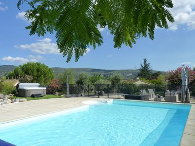 Photo for HOUSE, HEATED POOL AND SPA IN VALLON PONT D'ARC, BEAUTIFUL ENVIRONMENT