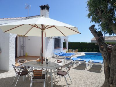 Photo for Holiday Villa in Calpe (costa Blanca) With Private Pool and Close to the Sea