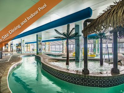 Great Family Fun. Indoor and Outdoor Pools, On-Site Dining Covered Parking.