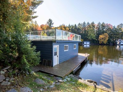 Photo for Sunshine Cove ~ On sheltered Lake Muskoka bay!