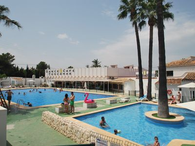 Photo for Holiday house with communal pool, dance restaurant, tennis courts, central locat