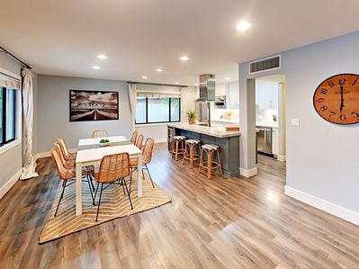 Dining Area - The open kitchen and dining space offer a great flow.
