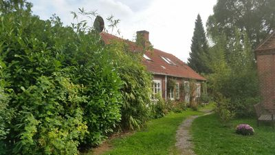 Photo for Idyllic holiday home with private garden on a beautiful old farm estate