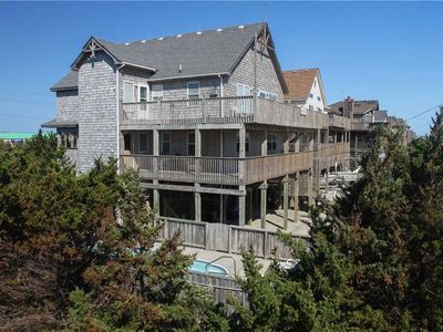 The Sandy House  OCEANVIEW w/Htd Pool&HotTub, Elevator, RecRoom