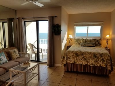 Photo for Fantastic Gulf Front Sunsuite!! Aug 18-29, is $110.00/night! Indoor Pool!