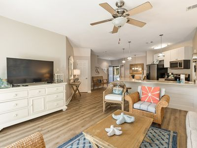 Photo for Pet Friendly 3 Bed/3 Bath Ocean Breeze Villa in the Heart of Hilton Head