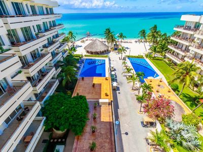 Photo for Beautiful Ground Floor Two Bedroom Suite at Ixchel