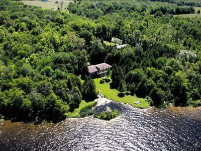 Photo for Pigeon Lake Gem - Gorgeous 4 Bdm Cottage on Over 2 Acres of Pigeon Lake Waterfront