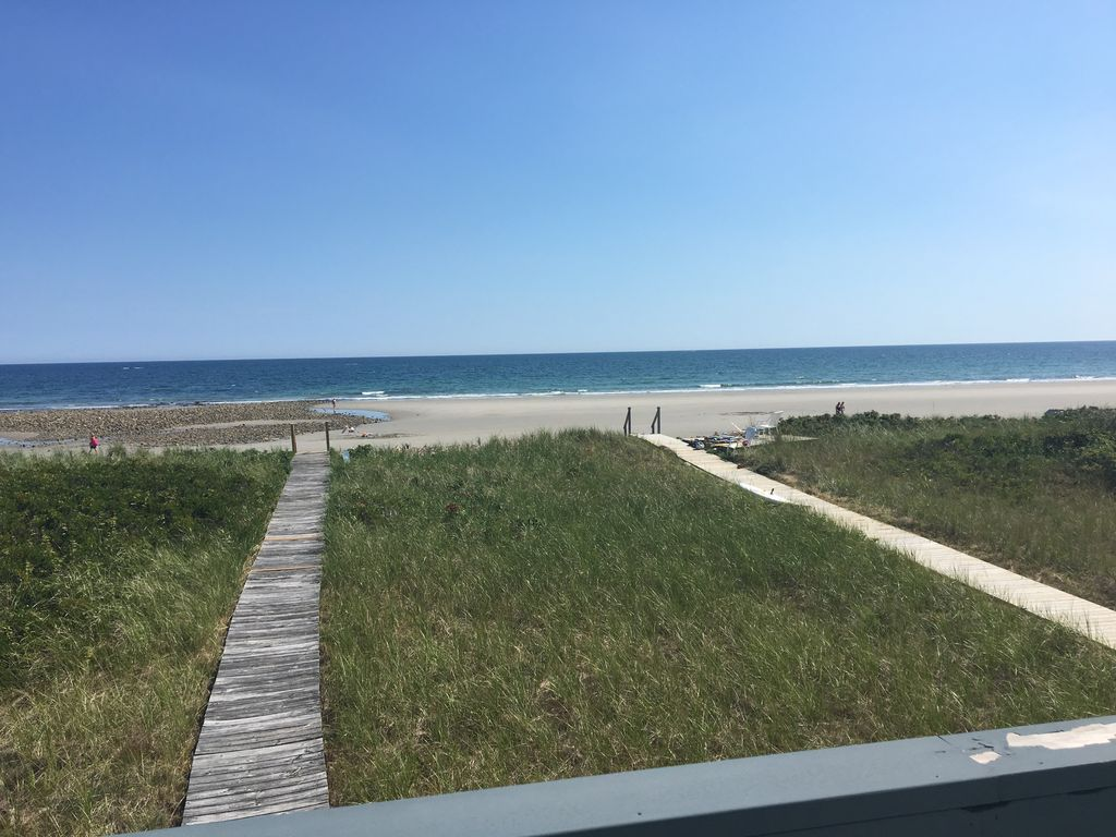 Oceanfront Home Private Drakes Island Beac Homeaway