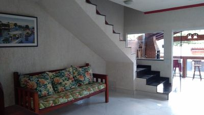 Photo for House c pool, air cond., Room c pool table area p barbecue and shower