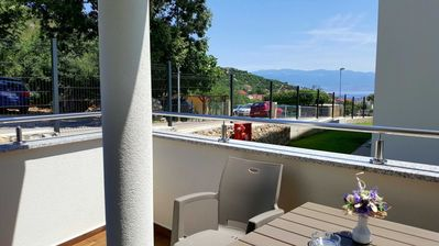 Photo for Apartment partly with sea view for 4-5 persons with air conditioning and WLAN