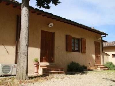 Photo for Bosco apartment among vineyards and olive groves