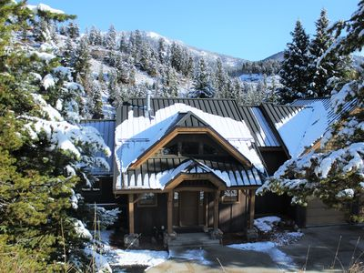 Photo for Custom Crafted Home- Central Big Sky, Beautiful Views & Private Hot Tub!