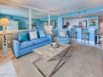Photo for Professionally Designed Gulf front 1bedroom unit 606 at Sundestin