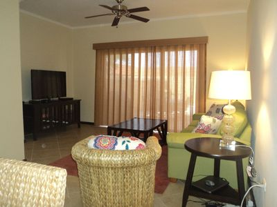 Flat Screen TV with cable and wireless internet available