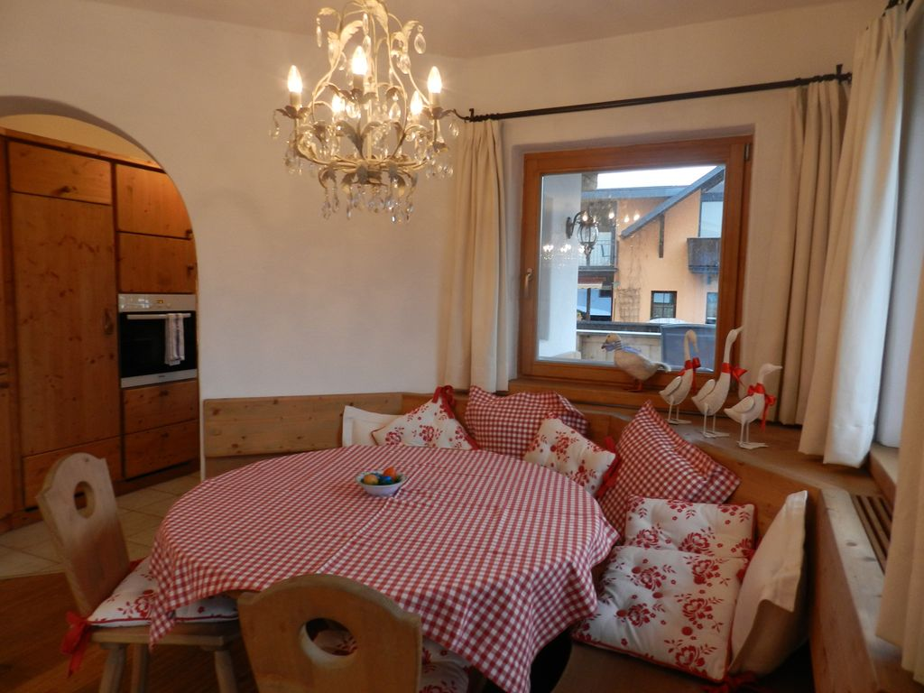 Seefeld Apartment Rental   DINING AREA