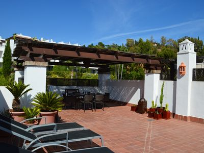 Photo for 2 bedrooms on Golf: quiet close to the beaches of Marbella and Puerto Banus