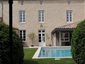 Stunning stone manor house in a prime location * heated pool  *