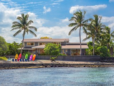 Photo for Puako Luxury Villa On Puako Beach with Guest House