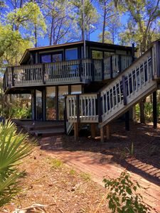Photo for Sea Pines Tranquil & Private Sea Loft by the Sea Walk to Harbour / Harbor Town
