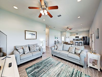 Living Area - Welcome to Rockport! Your rental is professionally managed by TurnKey Vacation Rentals.