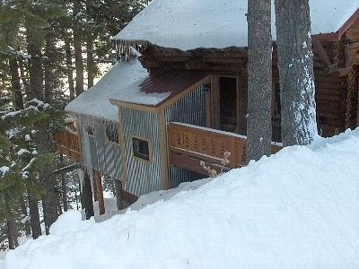 Photo for Park City Secluded Log Home in the Trees with Hot Tub