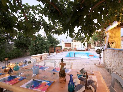 Photo for Villa Anemos -Beautiful Small Villas Just 5 km Away From Rethymno City and Beach