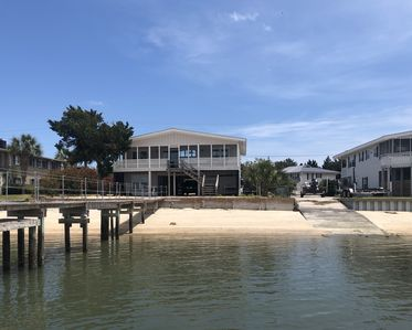 Photo for Pet Friendly - Deep Water Front Marsh Home - 5 BR