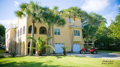Photo for Special! Remainder of September: $249/day Folly Beach meets Mediterranean luxury