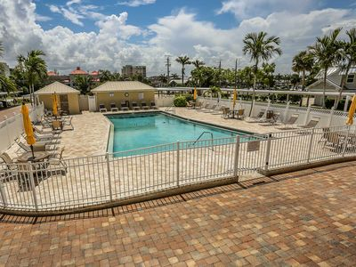 Photo for Sand Caper 508 is a beautiful, fully remodeled two bedroom, two full bathroom direct beachfront condo at 6900 Estero Blvd.
