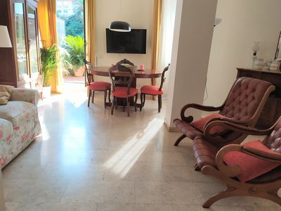 Photo for new apartment with large terrace a few steps from Trastevere and Testaccio 1