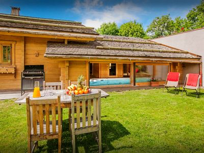 Photo for Skiing, sauna, spa and a pool at 5* chalet with home cinema - OVO Network