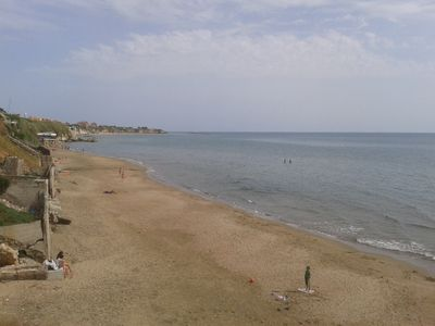 Photo for SPECIAL OFFERS: GREAT BEACH-APARTMENT in villa, SEAVIEW,   A/C, WIFI huge terrac