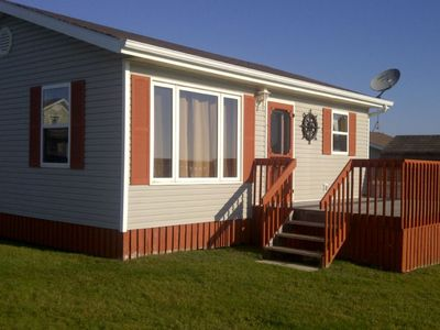 """Photo for """"Blue Suede View"""" cottage overlooking the Northumberland Strait"""