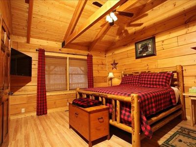 Photo for Beautiful 3 bedroom cabin- Ask about March and April Specials
