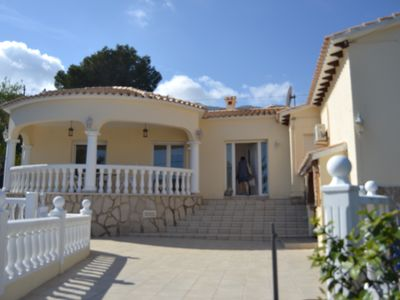 Photo for beautiful house Dénia, 4 bedrooms,, 3 B, private pool, 4 to 8 people