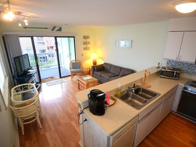 Photo for Top Floor Beach Condo w/ Ocean Views--Newly Remodeled!