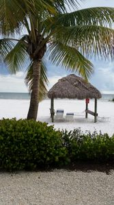 Photo for Beachfront 2 bedroom 2 bath condo located on the north end of the island.