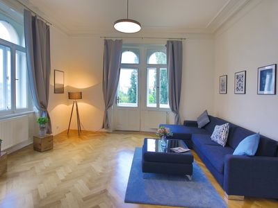 Photo for Rustic style one bedroom apartment by the river bank w/ balcony by easyBNB