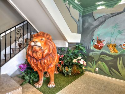 Photo for Lion King Disney Themed House! Private Pool/Spa