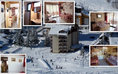 Photo for Quiet 2 rooms on the slopes, center Deux Alpes, private parking