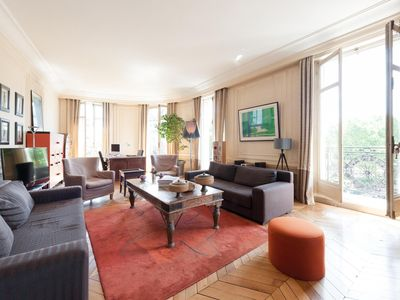Photo for Boulevard Raspail II - luxury 3 bedrooms serviced apartment - Travel Keys