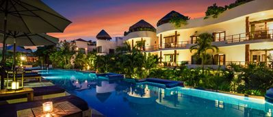 Photo for 2018 Traveler's Choice Award!  BEACH CLUB INCLUDED - Lush Enclave with Most Beautiful Pool - Gym, Spa, Restaurants -#13