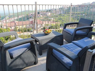 Photo for VILLA apt; PANORAMA VIEW - SEA OF GALILEE; 30 min to all attractions; for family