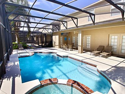 Photo for Disney Themed 7 Bed 4.5 Bath HotTub Heated Private Pool Games Room Grand Opening