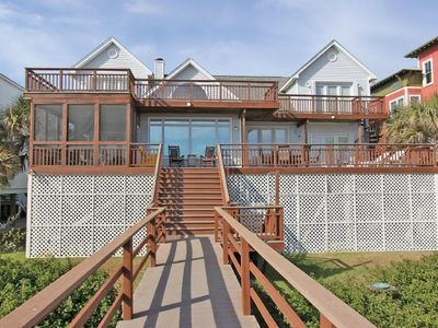 Photo for Reduced rates 20% through 9/9/20. Oceanfront, 2 Large Decks & Open Floorplan
